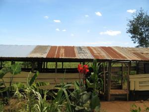 2009 We built more classrooms but this time with corrugated iron roofs but still open to the elements