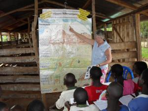 26 - Climbing Kilimanjaro led to me going to Uganda and it is on the curriculum!