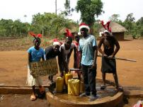 At the borehole