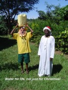 Water for life, not just for Christmas!