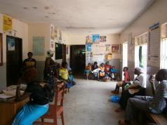 Baby clinic that Joy helped set up