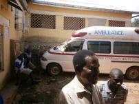 It's own ambulance too!!