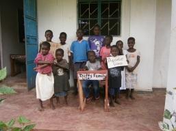 Asante sana Duffy family USA for the desk