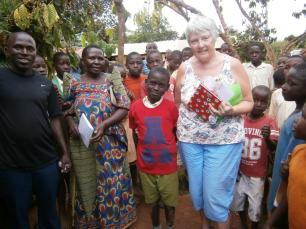 Thank you Joshua from your friend Emma in Uganda!
