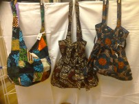 Esther's patchwork shoulder bag and new sholder bag £6