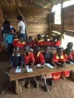 They enjoyed using the crayons donated by friends and schools in the UK. Please start saving pencils, pencil crayons and was crayons for my next trip to Uganda!