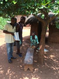 The boys sorted out the number of nets allocated to each family
