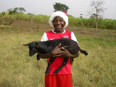 20 - Nico, chief goat man!