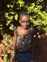 Gerry Mukisa aged almost nine! Mukisa means Blessed. X