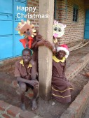 Happy Christmas - When the animals came to school
