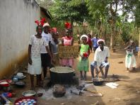 Maize porridge for everyone!