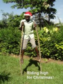 Riding high for Christmas!