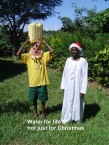 Water for life not just for Christmas!