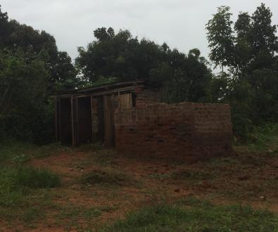 341 children and six teachers use these latrines!