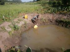 I certainly wouldn't like to fall in this waterlad we have a safe water borehole nearby for our consumption!! G