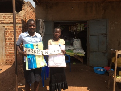 The parents of these children run a little shop but they still cannot afford mosquito nets