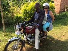 The boda taxi I use regularly.