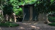 As it is still today - Bathroom on the left, latrines on the right!