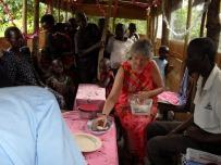 I had taken tiny mince pies to Uganda