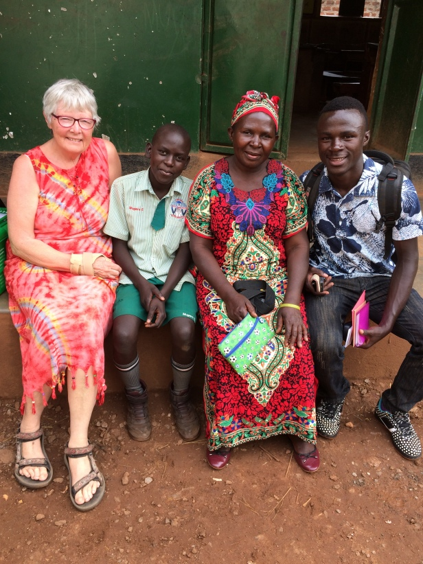 Mum Monica is very proud of her sons and grateful to the help from friends in the UK