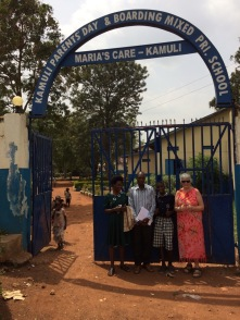 Kamuli Day & Boarding School at Maria's Care in Kamuli. Where my love of Uganda 🇺🇬 all began!