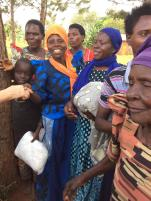 Everyone is so appreciative of our efforts to help protect them from Malaria. Thanks everyone!